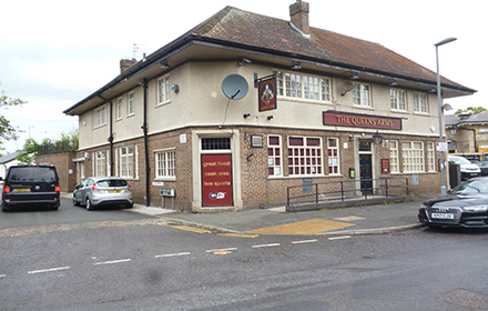 Queens Arms (Shot One)